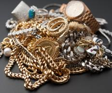 Jewelry is considered to be movable property.