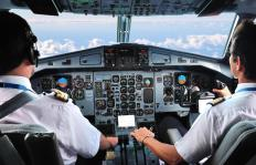 A senior captain may instruct new pilots or those transitioning between aircraft types at an airline's flight training school.