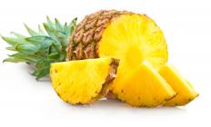 Pineapple is one fruit used to make a frog eye salad.