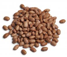 Pink beans are pinkish-brown colored beans that have a semi-sweet taste.