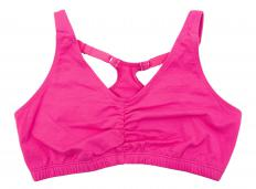 A running bra with hidden seams, which won't chafe.