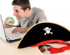Online piracy costs companies millions of dollars.
