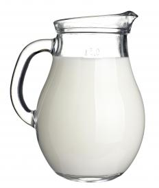 Titanium dioxide is used in some dairy products, including milk, in order to enhance the white color.