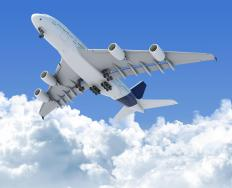 Airlines regularly estimate when flights will arrive.