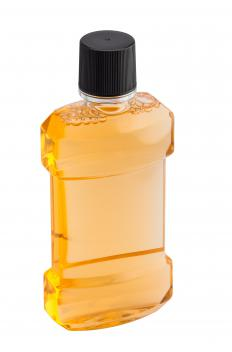 Alcohol-free mouthwash may be helpful in treating an infected tongue piercing.