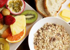 Any well-balanced diet plan should include several servings of fiber-rich grains and fresh fruits daily.
