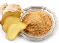 Ginger is often used in tea as an expectorant.