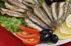 Anchovies are sometimes used as flavoring agents in fra diavolo sauce.
