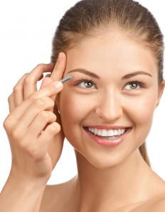 Eyebrow threading is an alternative to plucking eyebrows with tweezers.