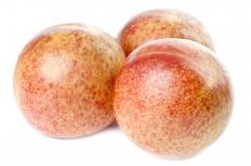 Pluots, which are similar to apriums.