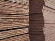 Plywood is susceptible to splintering and developing ragged edges when being cut.