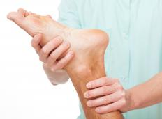 The best treatment for foot drop, in which bending of the toes and ankle upward is not possible, depends on the cause.