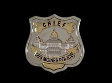 A police officer's badge.