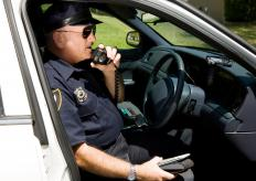 Scanners can detect the frequencies used by police and other emergency personnel.