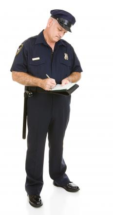 There are laws that require police officers to conduct themselves in an appropriate manner.