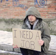 People who register for unemployment benefits must be physically and mentally capable of working.