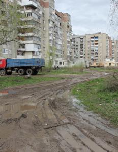Poorly maintained roads may be faced by citizens living in a kleptocracy.