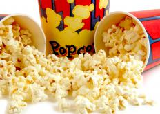 Popcorn can make a party more movie theater-like.