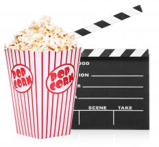 Flashing images of popcorn on the screen during a movie supposedly influenced the people who saw the film, according to a 1957 study.