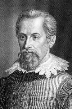 Astronomer Johannes Kepler discovered planet ellipse points.