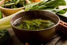 Turnip greens can be boiled and used in soups.