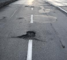 Potholes account for thousands of dollars worth of insurance claims per year.