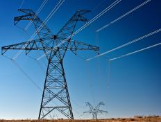 In general, electricity must be transferred via a transmission line.