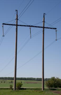 A power supply converts the voltage from power lines into lower levels of voltage.