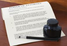 A trading authorization works in the same manner as a power of attorney.