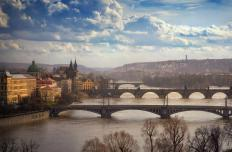 Prague, the capital of the Czech Republic, was home to many of the intellectuals who were involved in the Velvet Revolution.
