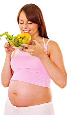 Changes in appetite during pregnancy can mean a woman isn't getting enough fiber for digestion.