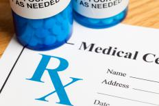 The theft of prescription pads can be involved in prescription forgery.