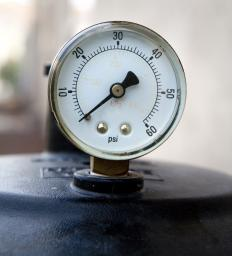 A Bourdon pressure gauge is one of the most widely used gauges for measuring pressure.