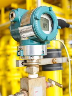 A pressure transmitter may be used to ensure that machinery is operating safely and properly.