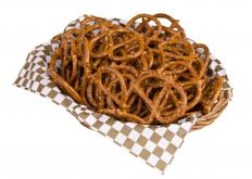 Pretzels are often part of craft service items.