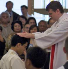 The ordination process and requirements vary among Christian denominations.