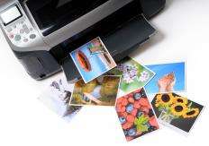 Many photographers use special printer cartridges that contain archival ink to print their pictures.