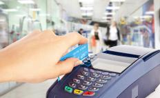 ATM cards can allow carriers to make purchases without cash.