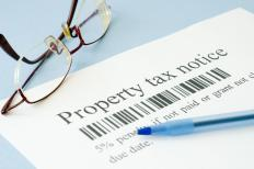 The amount of property tax should be considered when purchasing an investment property.