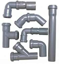 Pipe fittings.