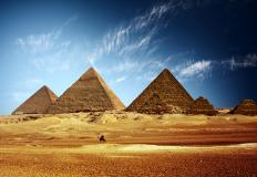 The Great Pyramid was built around 2560 BCE.