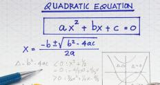 The quadratic equation is a familiar example that can be written as a parametric equation.