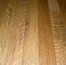 Traditional interior design often includes wood flooring.
