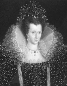 Grace O'Malley met with Queen Elizabeth I to ask for the release of her captive relatives.