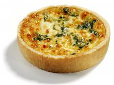 Munster cheese adds flavor to quiche recipes.