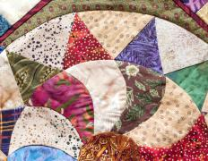 Amish quilts are made by members of the Amish community.