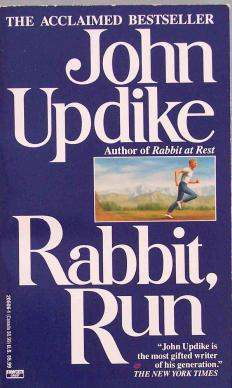 John Updike's Rabbit series used strong characters to portray post-war America.