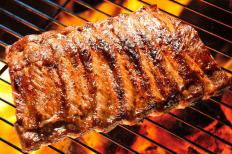 Traditionally, ribs are cooked on a grill at low temperatures for several hours.