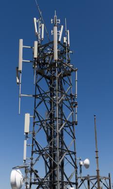 Radio masts are used to support the broadcasting equipment the station requires to transmit signals to listeners and different repeater stations.