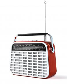 Radios are often used for background noise in homes, workplaces and stores.